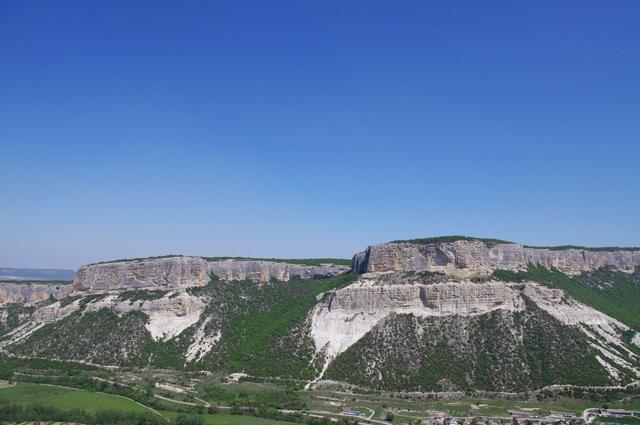к Большому каньону Крыма